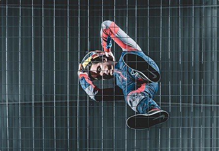 indoor skydiving polet v aerotrube Indoor Skydiving TheVision on YouTube 00001 1