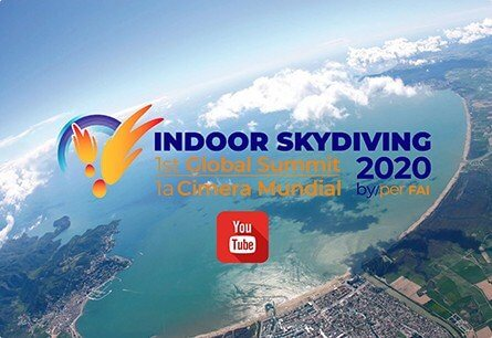 indoor skydiving polet v aerotrube Indoor Skydiving TheVision on YouTube 00001