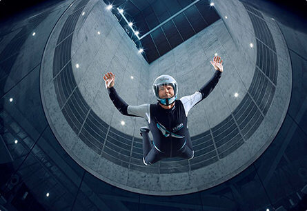 indoor skydiving polet v aerotrube clymb 00001