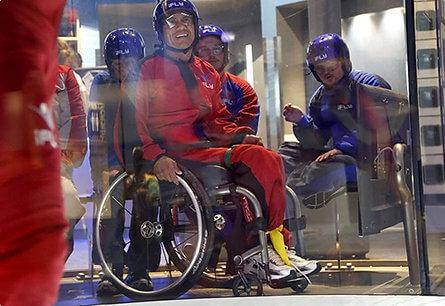 indoor skydiving polet v aerotrube HandiFly 2021 00001